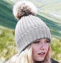 Chunky beanie hat