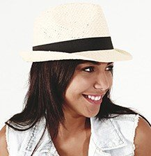 Festival trilby hat