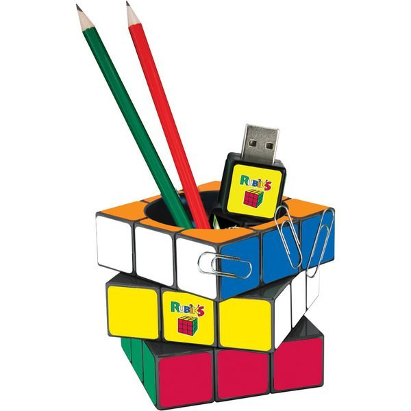 Rubiks Cube Pen Pot