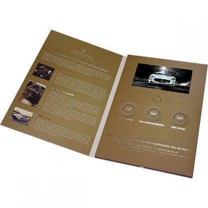 Video Presentation Card