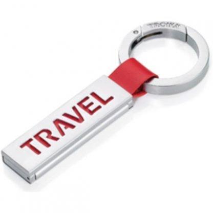 Travel Luggage Tag & Keyring