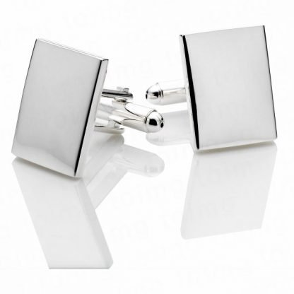 Cuff Links - Silver Plated