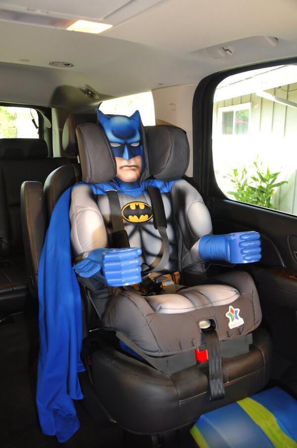Superhero Car Seat