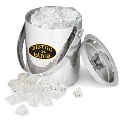 Ice bucket - stainless steel