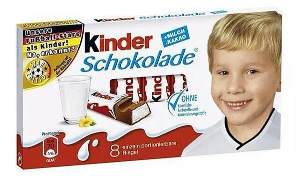 Kinder World Cup Chocolates