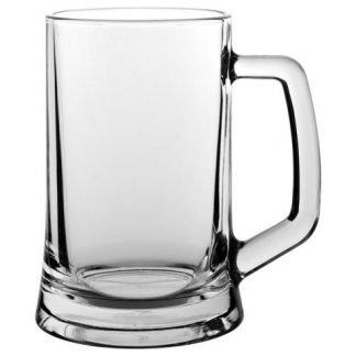 Plain Glass Tankard ut1