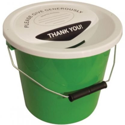 Charity Collection Bucket