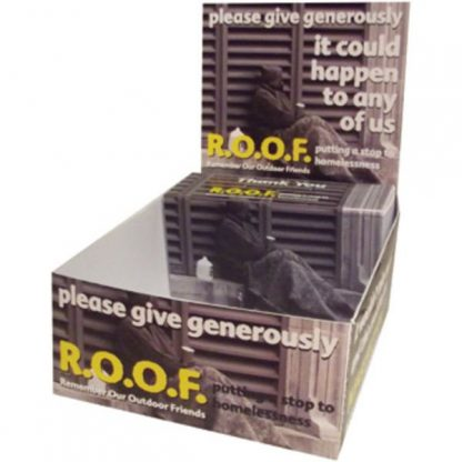 Charity Merchandise Collection Box