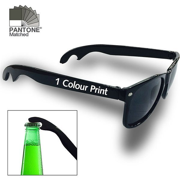 Sunglasses and Bottle Opener