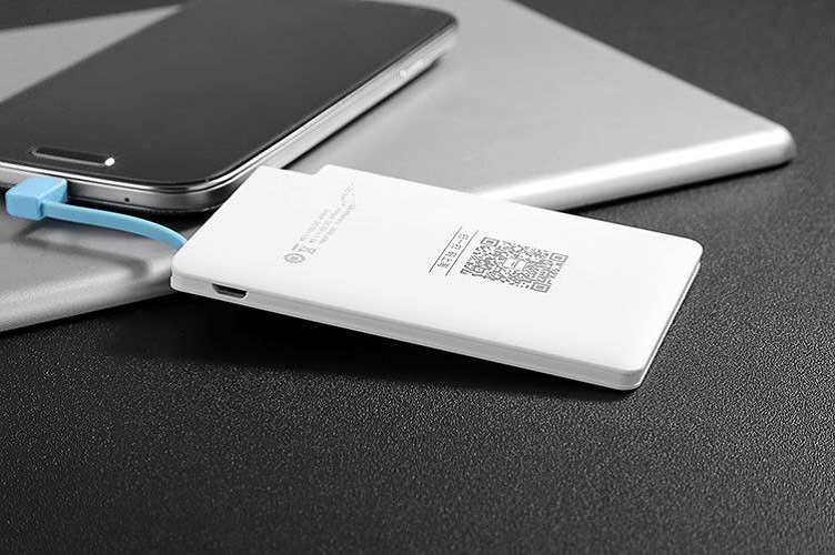 Power Bank with Charging Light