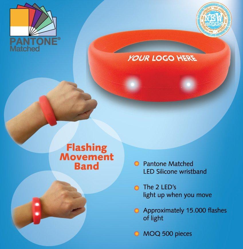 Stylish LED Silicone wristband