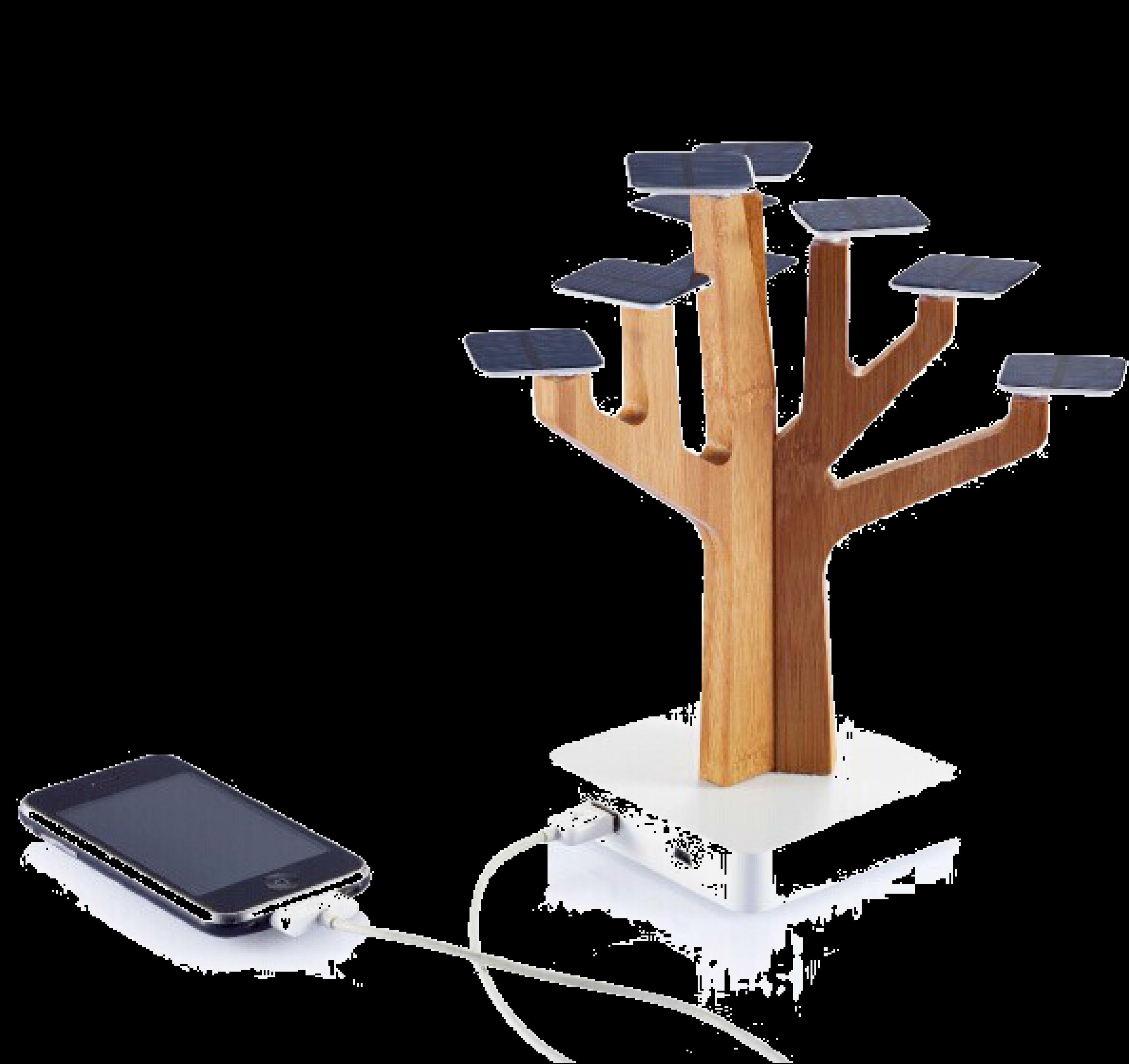 Solar Panel Tree Power Bank