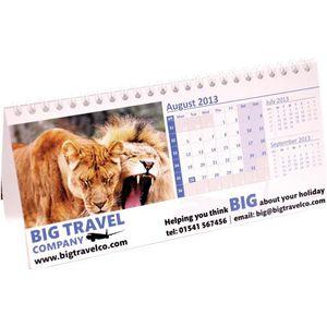 Mailing Landscape Easel Desk Calendars