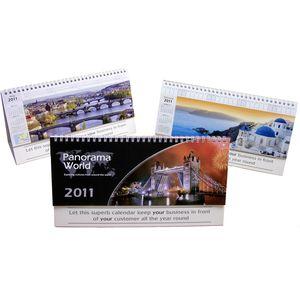 Panorama World Desk Calendar