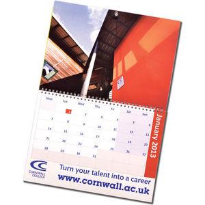 A3 Traditional Wall Calendar