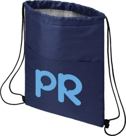 Drawstring cooler bag