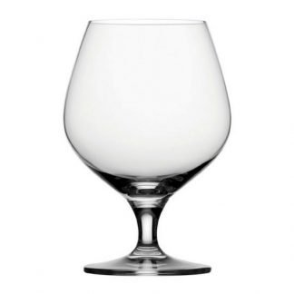 51cl heavy bottom Durham crystal brandy glass
