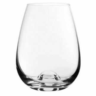 46cl Stemless Crystal Red Wine Glass