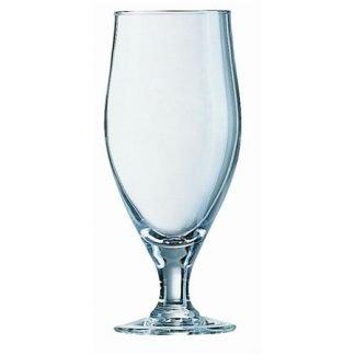 Cervoise Stemmed Half Pint Beer Glass