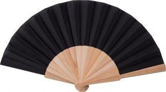 Wooden hand fan