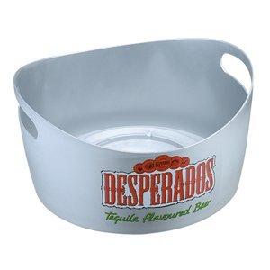 Round plastic ice bucket