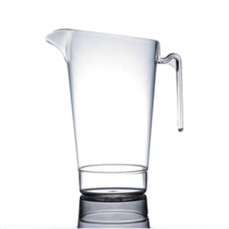 4 Pint Reusable Plastic Jug with CE Marks