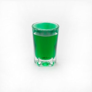 Reusable 25ml plastic shot glass
