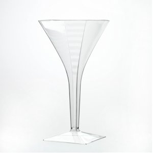 Disposable Martini Glass