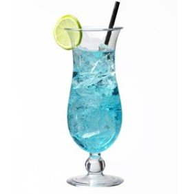 Plastic Hurricane glass