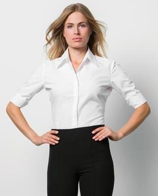 Custom Kit Ladies Continental three quarter length sleeve blouse