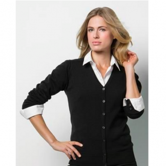 Ladies V Neck Cardigan