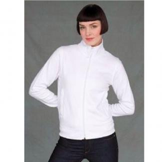 Slim Fit Ladies Full Zip Sweatshirt