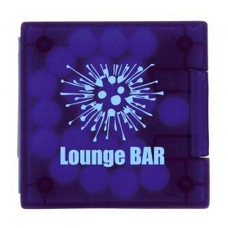 Mini square mint dispenser