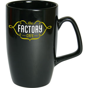 Corporate Earthenware Black Mug