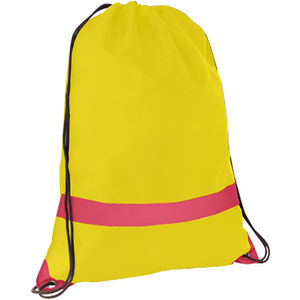 Sports Bag with Reflective Stripe