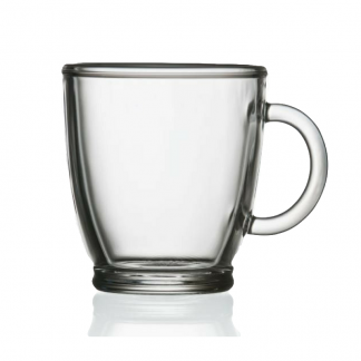 Glass Coffee or Tea Mug 36cl