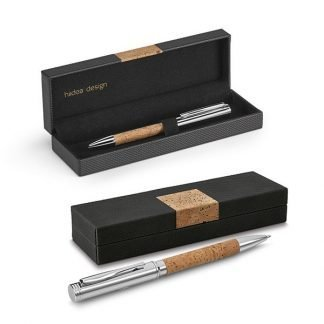 Eco friendly cork pen and gift box