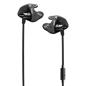 Wired Earphones S10 in black