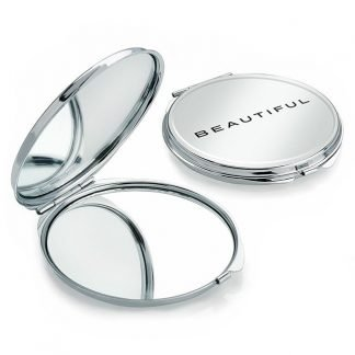 Branded Double Compact Mirror