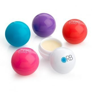 Branded Ball Shaped Lip Balm