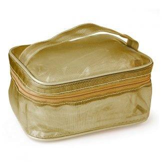 Mesh Cosmetics Bag