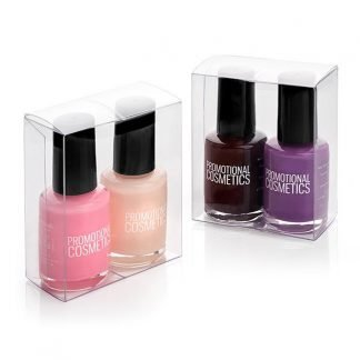 2 Piece Nail Polish Set in a PVC Box