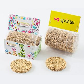 Custom Printed Sesame Cookies