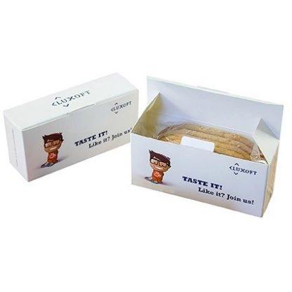 Branded Breakfast Biscuit Box