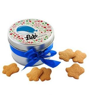 Promotional Christmas Biscuit Tin