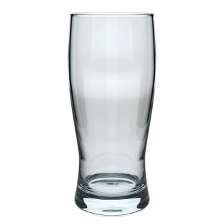 Golding beer glass