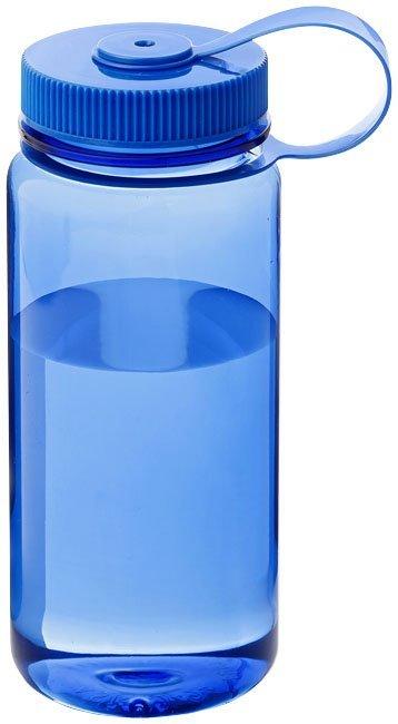 Transparent Blue bottle