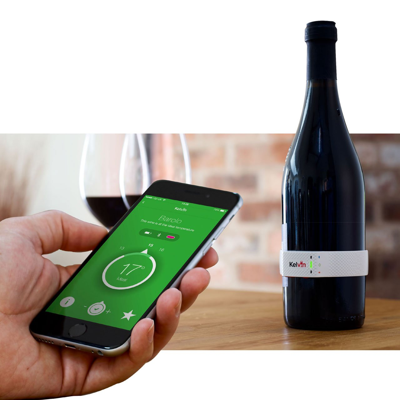 Techy Tuesday - Smart Wine Thermometer