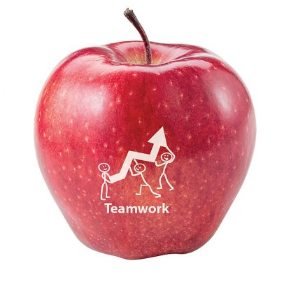 Red Printed Apples