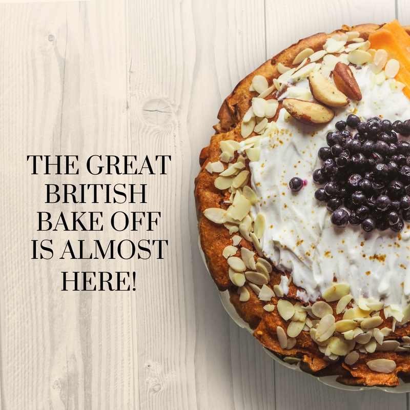 The Great British Bake Off is Almost Here!